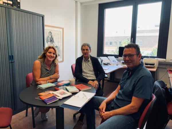 Werkbezoek met Paul Verhaege - Doctor Klinische Psychologie en hoogleraar Universiteit Gent